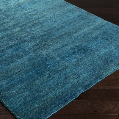 Nondoue Teal Area Rug Rug Size: Rectangle 33 x 53