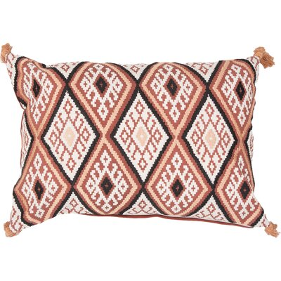 Kymmi Lumbar Pillow Color: Orange
