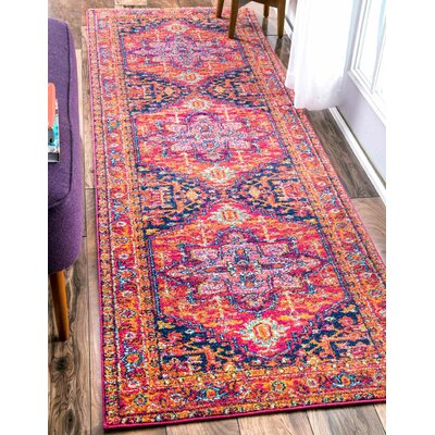 Barksdale Blooming Multi-Colored Area Rug Rug Size: Runner 2'8