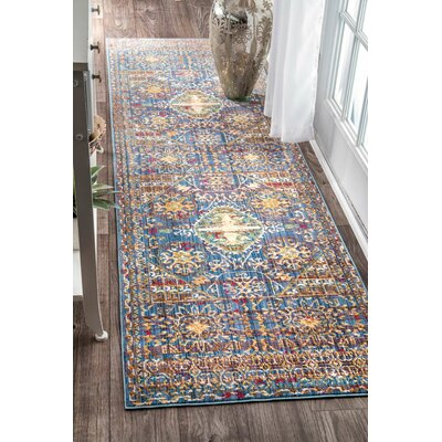 Fallsview Purple Area Rug Rug Size: Runner 2'6