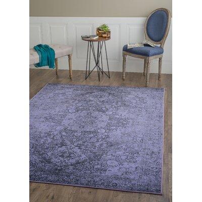 Tariq Purple Area Rug Rug Size: 710 x 103