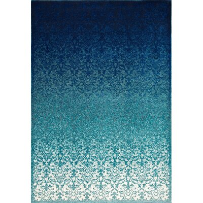 Devynn Turquoise Area Rug Rug Size: Rectangle 53 x 8