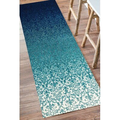 Kailey Turquoise Area Rug Rug Size: Runner 2' 7