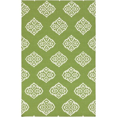 Faith Peridot Geometric Area Rug Rug Size: Rectangle 5 x 8