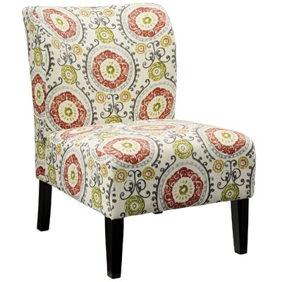 Fontanne Floral Slipper Chair