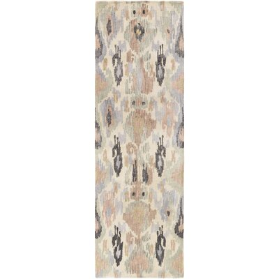 Bower Ikat/Suzani Area Rug Rug Size: Runner 26 x 8
