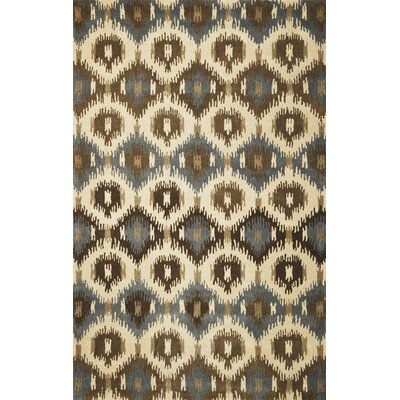 Jagger Ivory Allover Mosaic Area Rug Rug Size: Runner 23 x 8