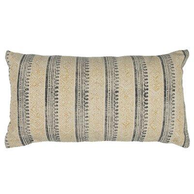 Cotton Lumbar Pillow Color: Yellow