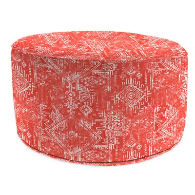 Patio Outdoor 24 Round Pouf Ottoman