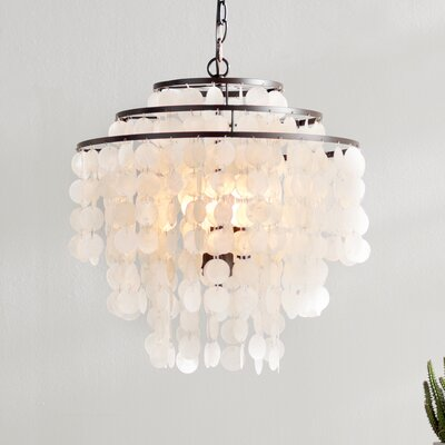 Devry 3-Light Waterfall Chandelier