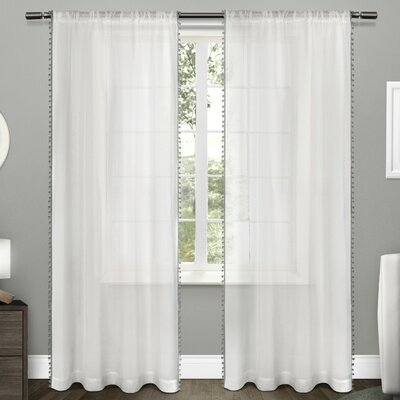 Bungalow Rose Rockport Curtain Panels