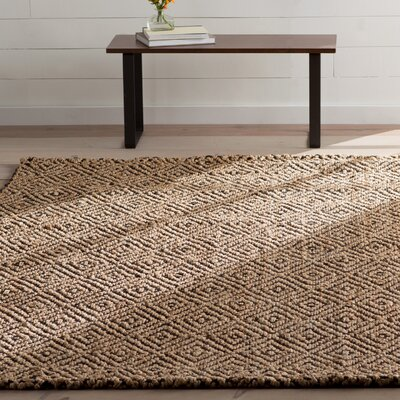 Grassmere Hand-Woven Area Rug Rug Size: Rectangle 4 x 6