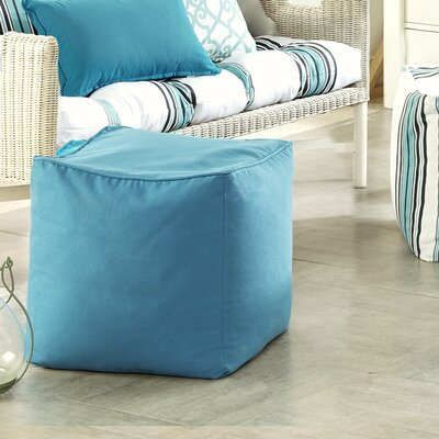 Azura Ottoman Upholstery: Aqua