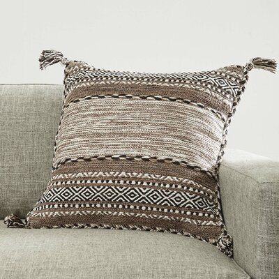 Fogarty Pillow Cover Color: Tan, Size: 20