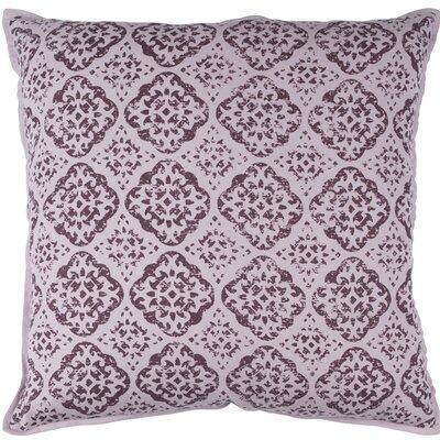 Kody Throw Pillow Size: 18 H x 18 W x 4 D, Color: Mauve / Dark Purple
