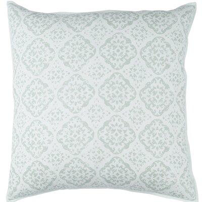 Kody Throw Pillow Size: 20 H x 20 W x 4 D, Color: Sea Foam