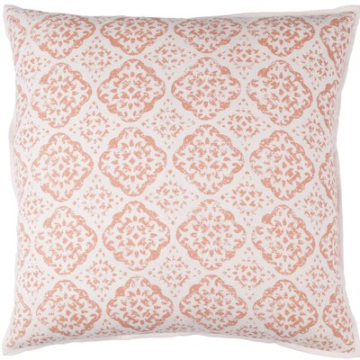 Kody Throw Pillow Color: Blush / Bright Pink, Size: 20 H x 20 W x 4 D