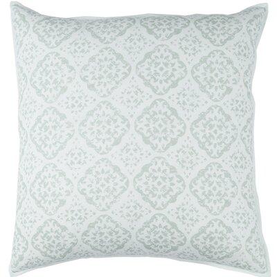 Kody Throw Pillow Size: 18 H x 18 W x 4 D, Color: Sea Foam
