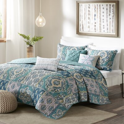 Brielle 6 Piece Coverlet Set Size: Full/Queen