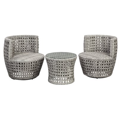 Kramer 3 Piece Lounge Seating Group
