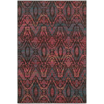 Rockwell Overdyed Brown/Multi Area Rug Rug Size: 6'7
