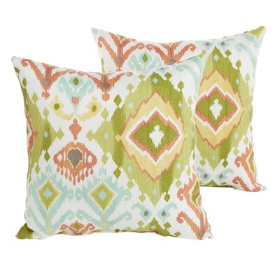 Laila Indoor/Outdoor Throw Pillow Size: 18 H x 18 W x 6 D