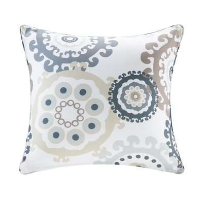 Edyth Outdoor Throw Pillow Size: 20 H x 20 W, Color: Neutral
