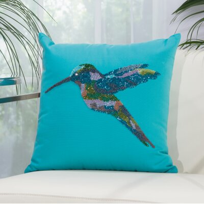 Elowen Hummingbird Outdoor Acrylic Throw Pillow