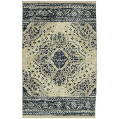 Asherman Beige/Gray Area Rug Rug Size: 5 x 7