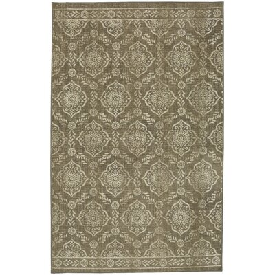 Asherman Beige/Cream Area Rug Rug Size: 5' x 7'