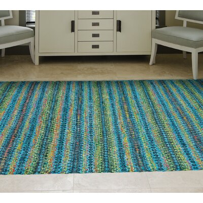 Lansing Hand-Knotted Aura Area Rug Rug Size: Rectangle 86 x 116