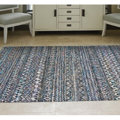 Lansing Hand-Knotted Thundercloud Area Rug Rug Size: Rectangle 56 x 86