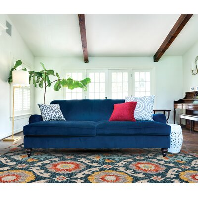 Austin Hand-Tufted Blue Area Rug