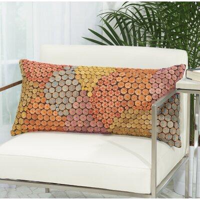 Fadila 100% Cotton Button Lumbar Pillow