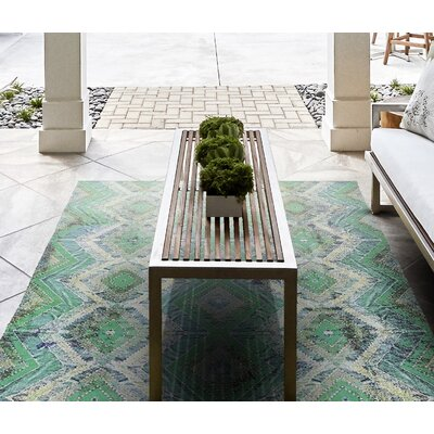 Arla Hand Woven Bonsai Indoor/Outdoor Area Rug Rug Size: 56 x 86