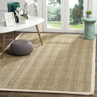Lutz Beige Area Rug Rug Size: Rectangle 6 x 9
