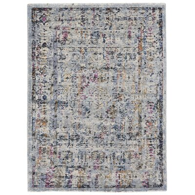 Abigail  Fog Pink/Purple Area Rug Rug Size: Rectangle 22 x 4