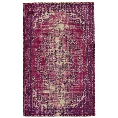 Apikuni Hand-Tufted Pink Area Rug Rug Size: Rectangle 4' x 6'