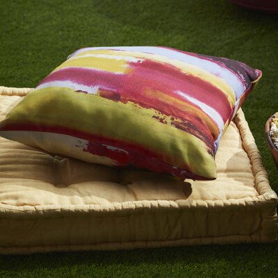 Dazey Perfectly Outdoor Throw Pillow Size: 20 H x 20 W x 4 D