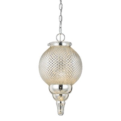 Cora 1-Light Globe Pendant