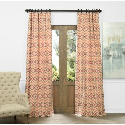 Johnston Single Curtain Panel