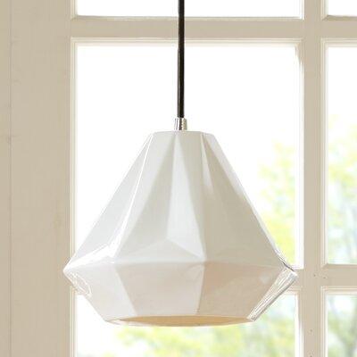 Nona 1-Light Mini Pendant Size: 8 H x 10 W x 10 D
