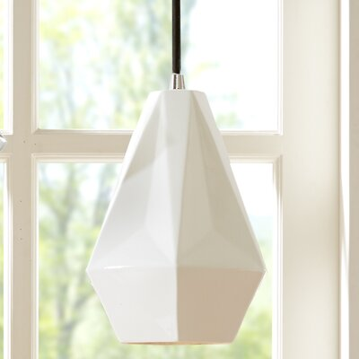Nona 1-Light Mini Pendant Size: 10 H x 8 W x 8 D