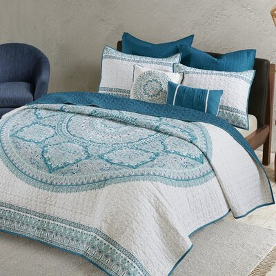 Saravia 7 Piece Coverlet Set Size: Full/Queen