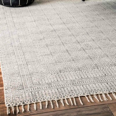 Clarette Gray Area Rug Rug Size: Rectangle 6 x 9