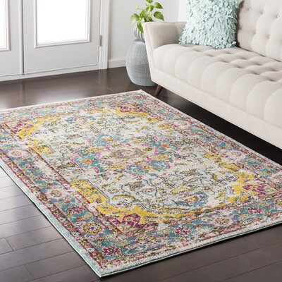 Nichole Multicolor Area Rug Rug Size: Rectangle 53 x 73
