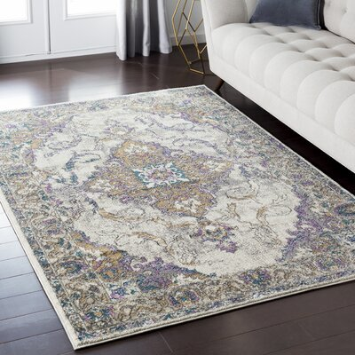 Nicole Gray Area Rug Rug Size: Rectangle 2 x 3