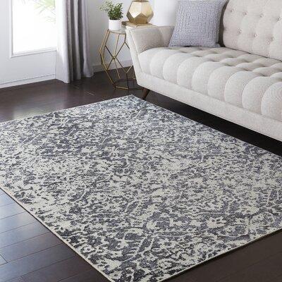 Zita Beige/Black Area Rug Rug Size: 810 x 129