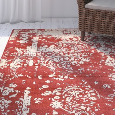 Vikram Red Area Rug