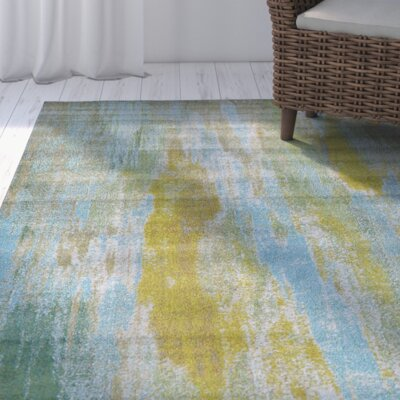 Killington Turquoise Area Rug Rug Size: Rectangle 33 x 53